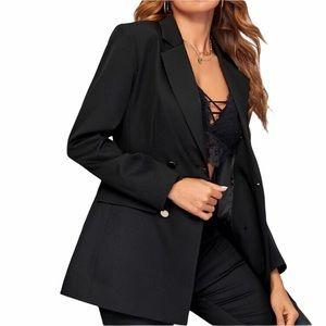Jones New York Double Breasted Blazer Jacket